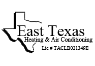 Logo: East Texas Heating & A/C